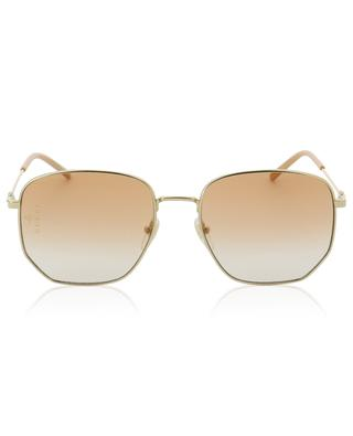 Golden metal sunglasses GUCCI