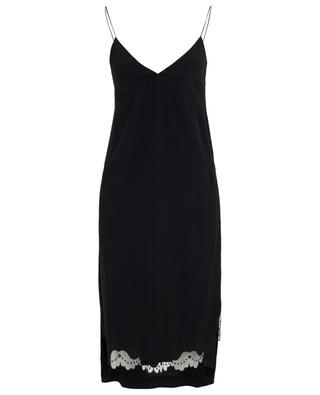 Entredeux set of camisole dress and long jumper N°21