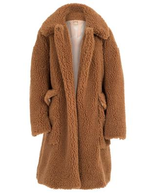Mantel im Oversize-Schnitt aus Kunstpelz N°21