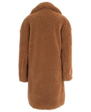 Manteau oversize en fourrure synthétique N°21