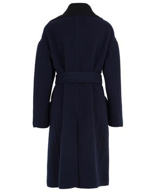 Double-face wool coat N°21