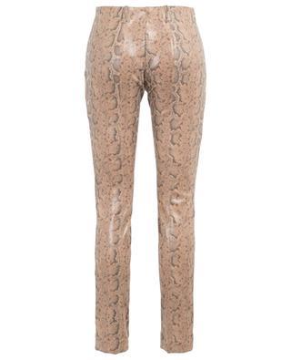 Slim-Fit Hose in Schlangenhaut-Optik MARC CAIN