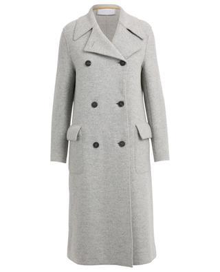 Manteau en laine bouillie Military HARRIS WHARF