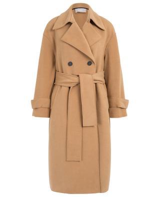 Long fleece belted coat HARRIS WHARF
