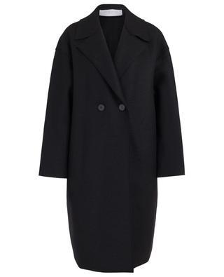 Weiter Mantel aus Schurwolle HARRIS WHARF