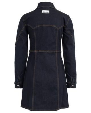 Kleid aus Denim GANNI