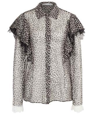Hemd aus Musselin mit Leopard-Print PHILOSOPHY