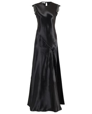 Maxi-Kleid aus Satin und Spitze PHILOSOPHY