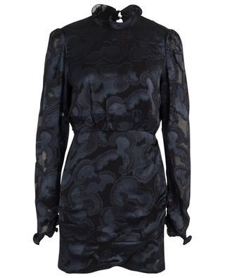 Minikleid aus Jacquard-Satin Rina-B Daybreak SALONI