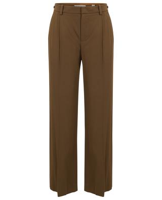 Viscose blend tailored trousers VINCE