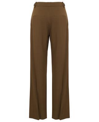 Pantalon à pinces en viscose mélangée VINCE