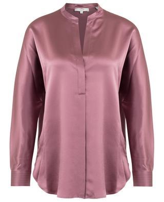 V-neck silk blouse VINCE