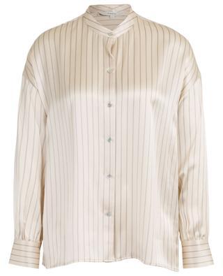 Striped silk shirt VINCE