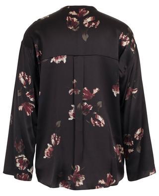 Floral print silk shirt VINCE