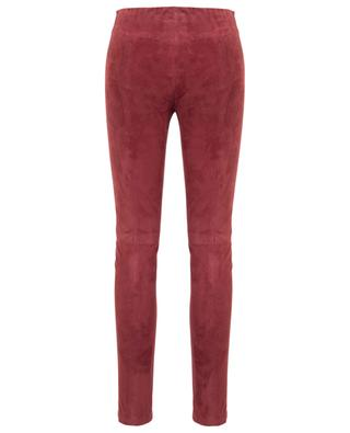 Suede slim fit trousers FORTE FORTE
