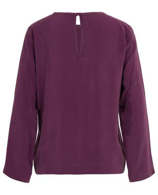 Magique long-sleeved silk top TOUPY