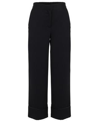 Weite Hose aus Krepp Verseau TOUPY