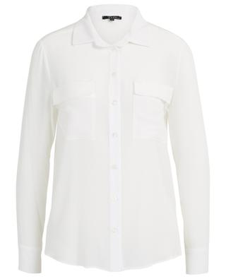 Gala silk shirt with chest pockets TOUPY