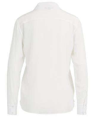 Chemise en soie avec poches poitrine Gala TOUPY