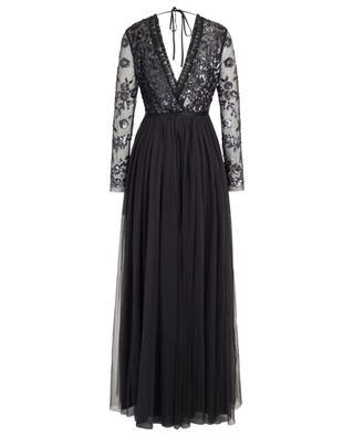 Langes Kleid aus Tüll und Pailletten Ava Bodice NEEDLE &THREAD