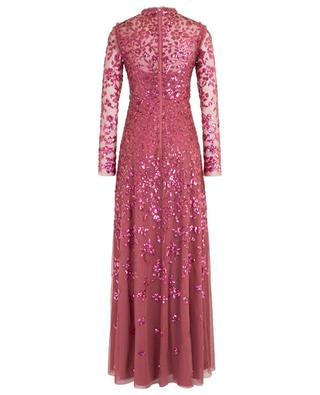 Rosmund sequins adorned tulle long dress NEEDLE &THREAD
