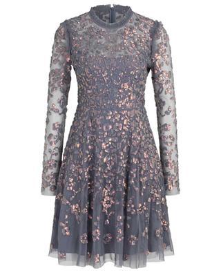 Kurzes Kleid aus Tüll mit Pailletten Rosmund NEEDLE &THREAD