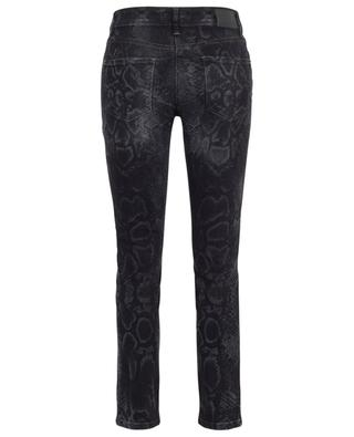 Slim-Fit-Jeans mit Schlangenprint Parla CAMBIO