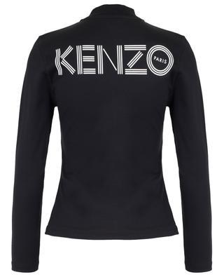 Kenzo Logo cinched zippered cardigan KENZO