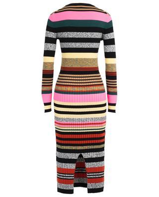 Long striped viscose blend dress KENZO