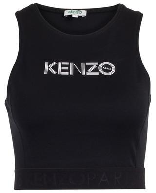 Stretch cotton brassiere with Kenzo logo KENZO