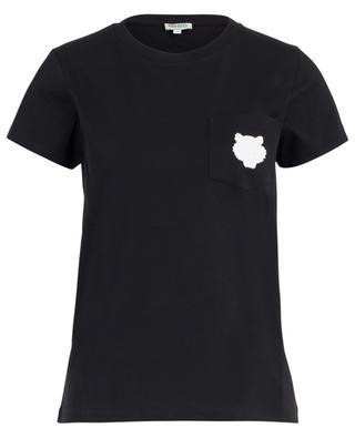 T-Shirt aus Baumwolle mit Stickerei Tiger KENZO