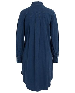 Denim shirt dress with pin tucks SEE BY CHLOE