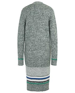 Stripe adorned long, thick cardigan SEE BY CHLOE