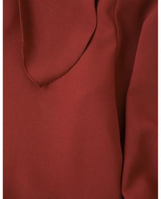 Kurzes Kleid aus Crêpe mit kurzer Schluppe SEE BY CHLOE