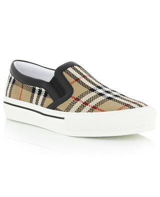 Delaware Vintage Check slip on sneakers BURBERRY