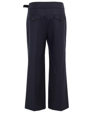 Hose aus Schurwolle mit weitem Bein WINDSOR