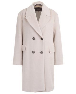 Doppelreihiger Mantel aus Alpaka und Schurwolle WINDSOR