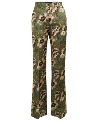 Floral satin palazzo trousers ETRO