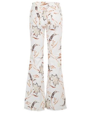 Ausgestellte Jeans mit Print Havana Flower DOROTHEE SCHUMACHER
