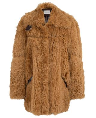 Wild Curls reversible lamb shearling coat SCHUMACHER