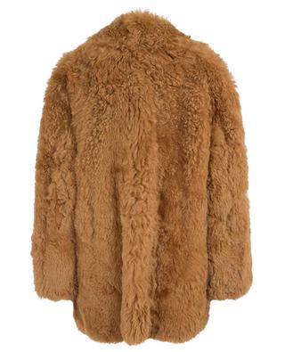 Manteau réversible en peau lainée Wild Curls DOROTHEE SCHUMACHER