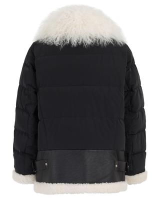 Voyage Comfort oversized bomber jacket with shearling DOROTHEE SCHUMACHER