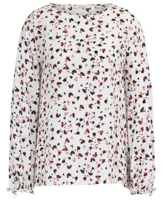 Simplistic Flowers silk blend blouse SCHUMACHER