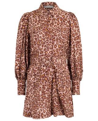Minirobe imprimée de taches léopard Resitance Safari ZIMMERMANN