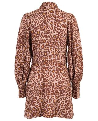 Minikleid mit Leopardenprint Resistance Safari ZIMMERMANN