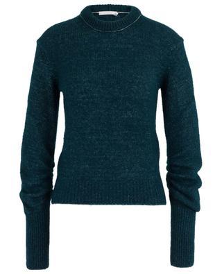 Pullover mit gerafften Ärmeln aus Alpakamix CHLOE