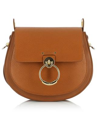 Tess Large smooth and grained leather handbag CHLOE