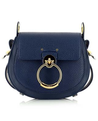Small Tess grained and smooth leather bag CHLOE