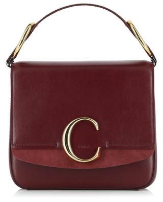 Tasche aus Glatt- und Wildleder Small Chloé C CHLOE