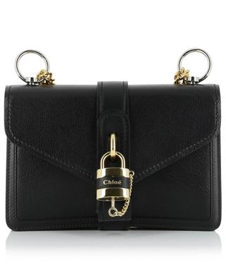 Aby Chain shiny leather shoulder bag CHLOE